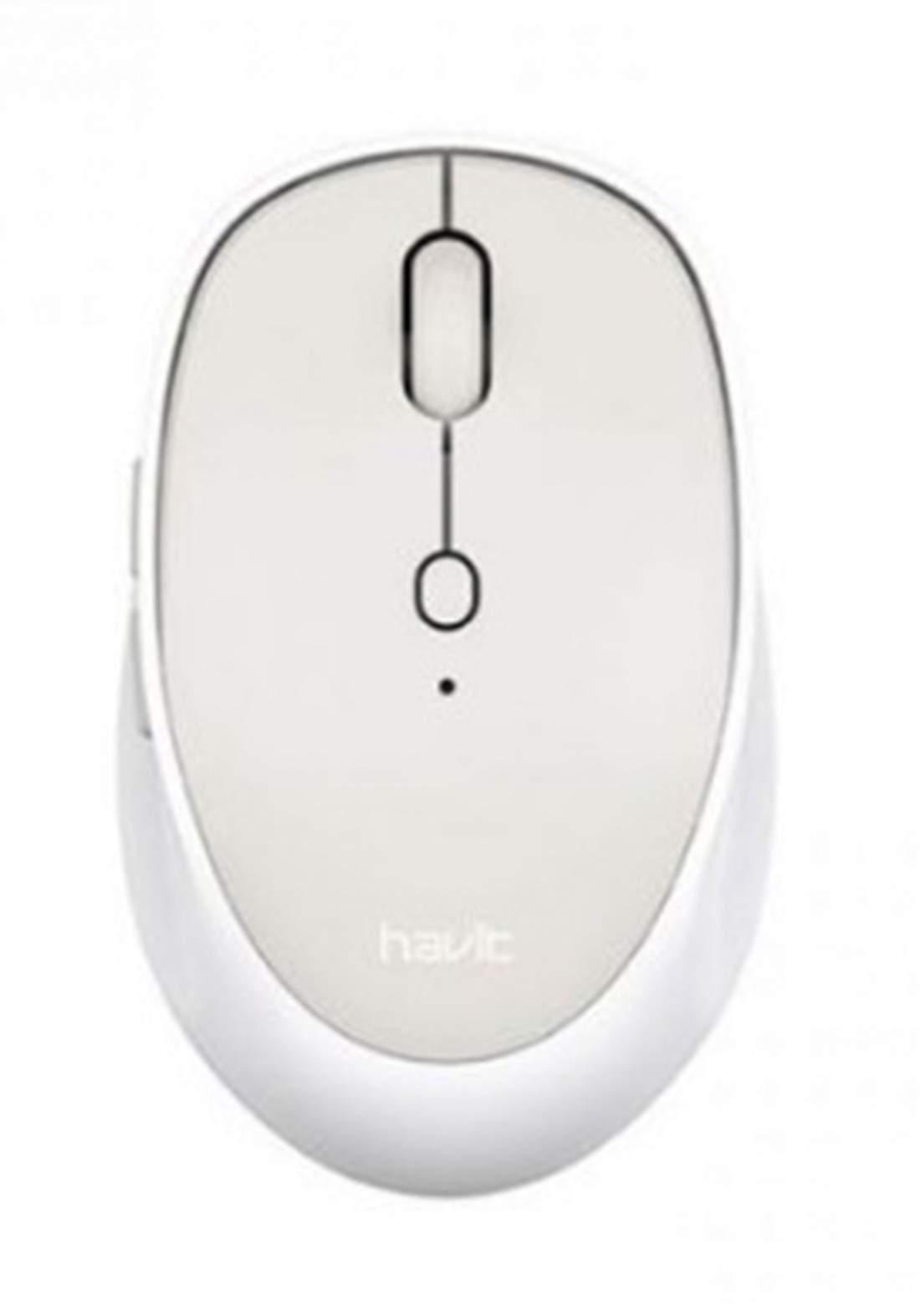 Havit MS76GT Wireless Mouse - White ماوس