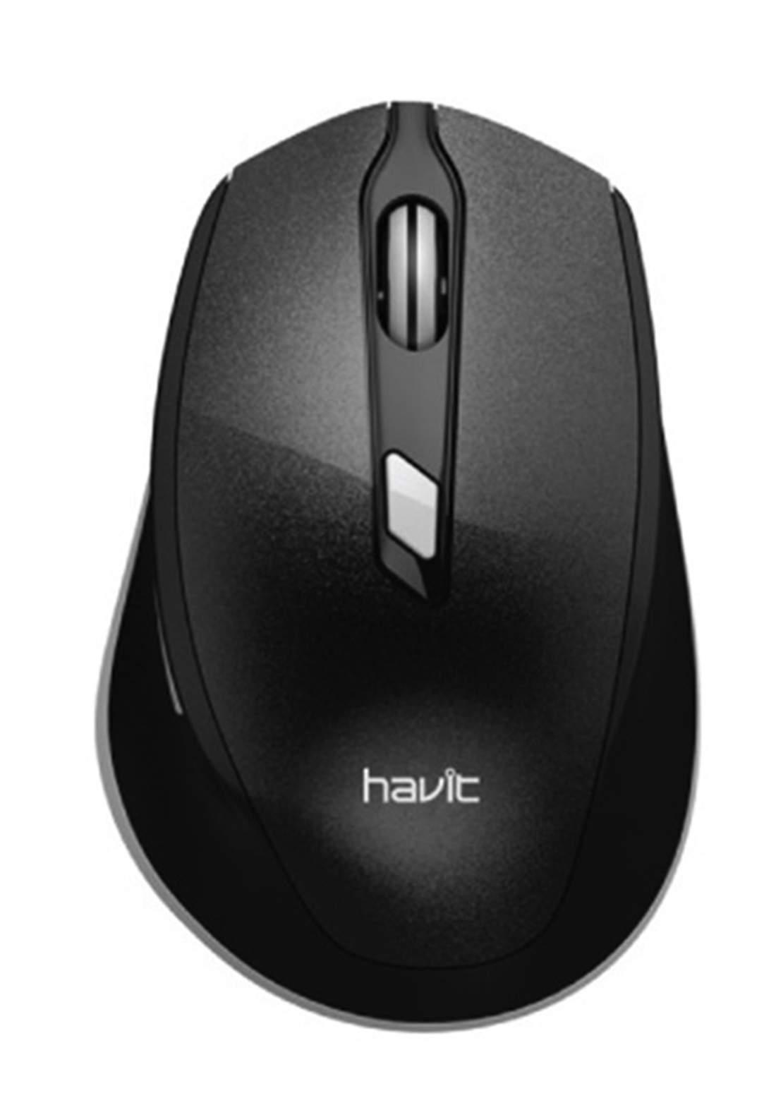 Havit MS622GT Wireless Optical Mouse - Black ماوس