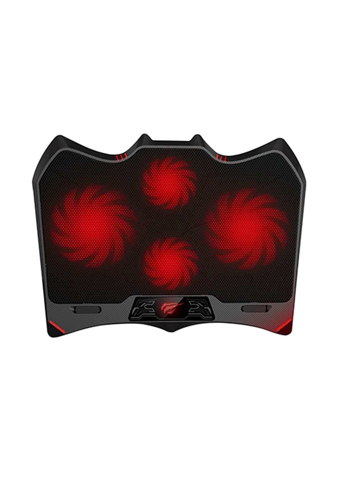 Havit HV-F2081 Gaming Cooling Pad  - Black وسادة تبريد للابتوب