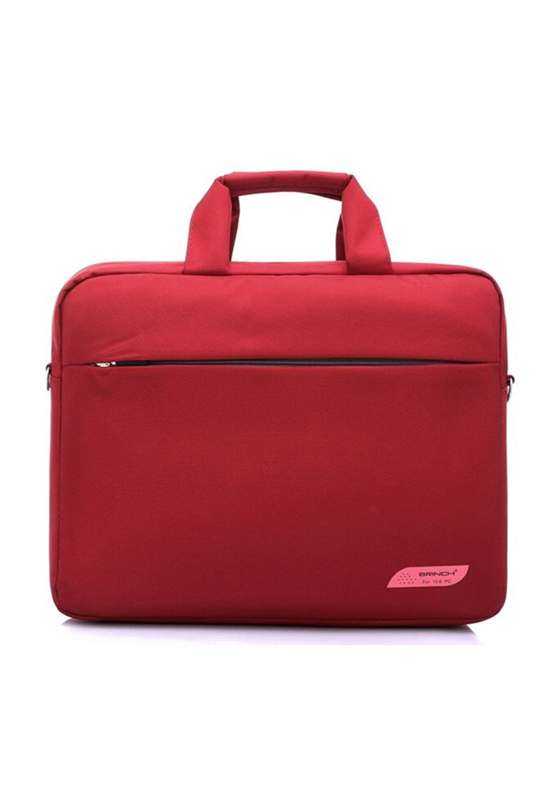 "SS-206  15.6"" Laptop Bag - Red  حقيبة لابتوب"