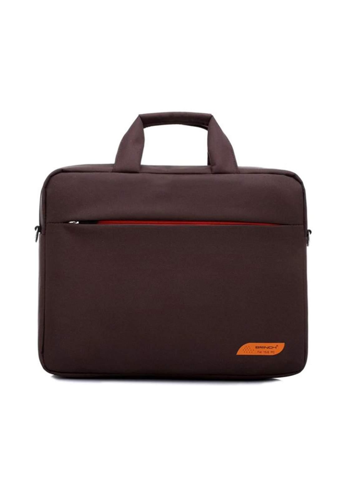 "SS-206  15.6"" Laptop Bag - Brown  حقيبة لابتوب"