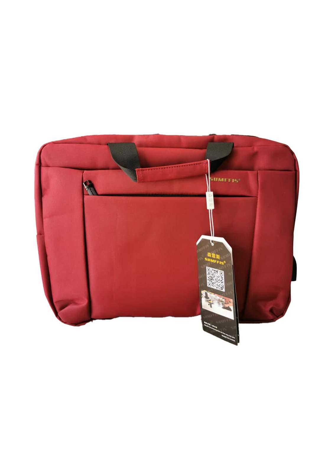 "SS-9160   15.6""Laptop Bag -  Red  حقيبة لابتوب"
