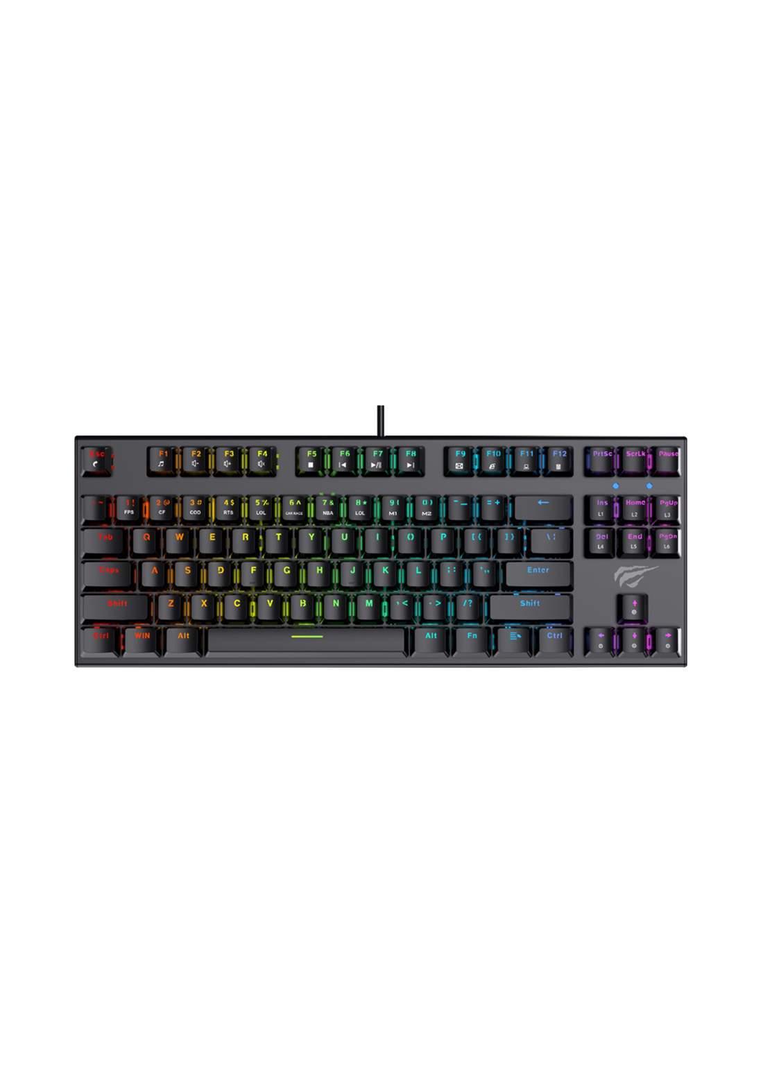 Havit KB857L Gamenote Mechanical keyboard - Black