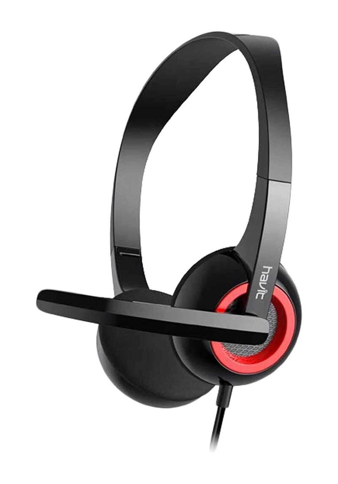 Havit H202d wired Headset - Black