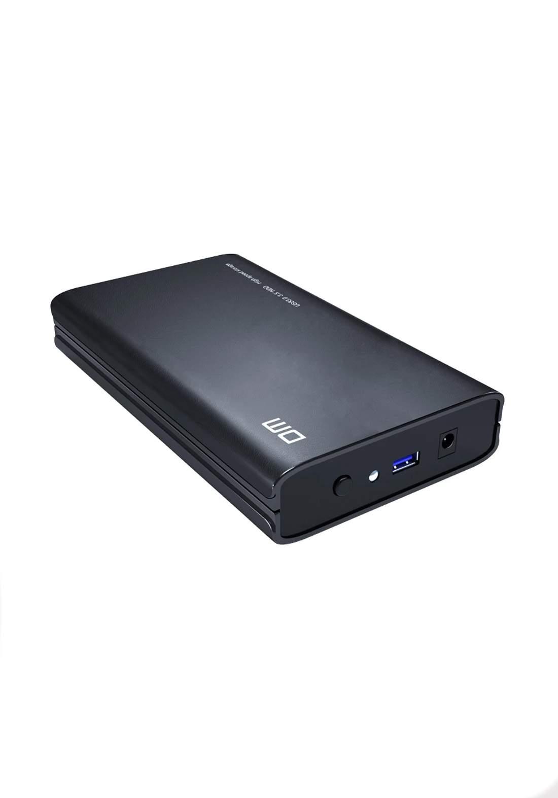 DM HD035 SATA 3 to USB 3.0 HDD External Hard Drive - Black هارد خارجي