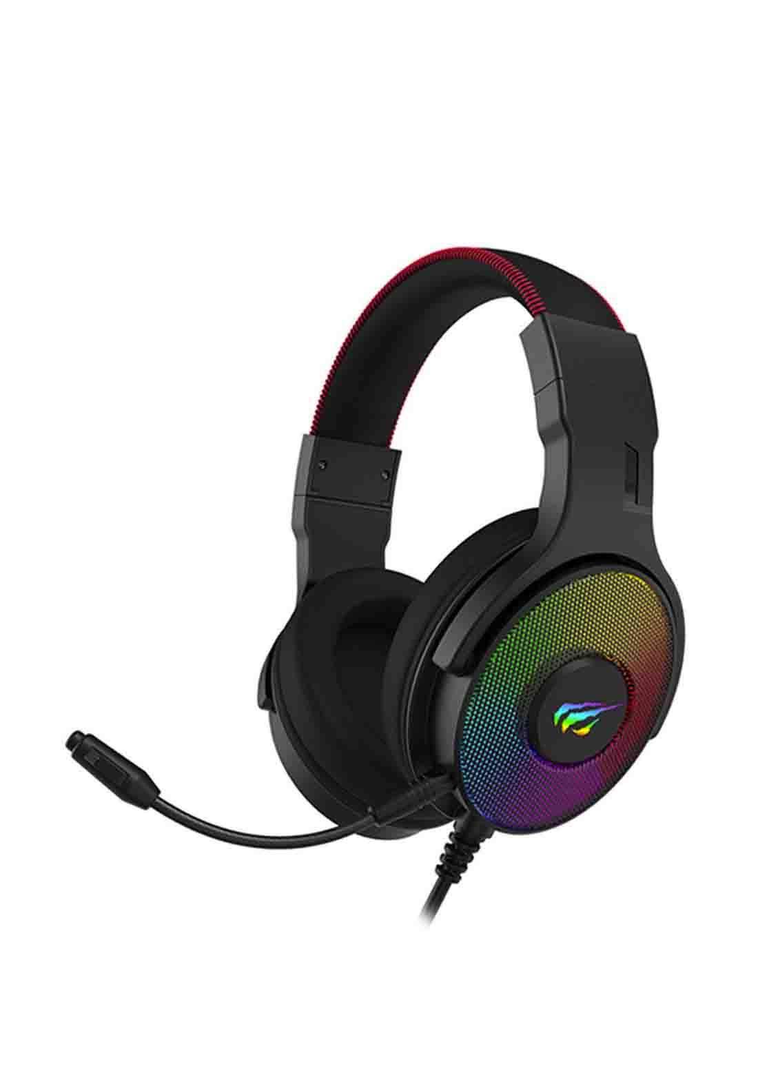 Havit H2028U Gaming Headphones - Black سماعة