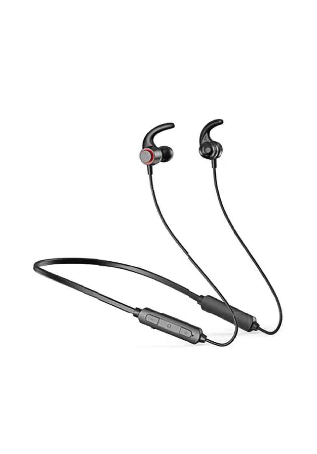 Havit E514BT Neckband Bluetooth Earphone - Black سماعة