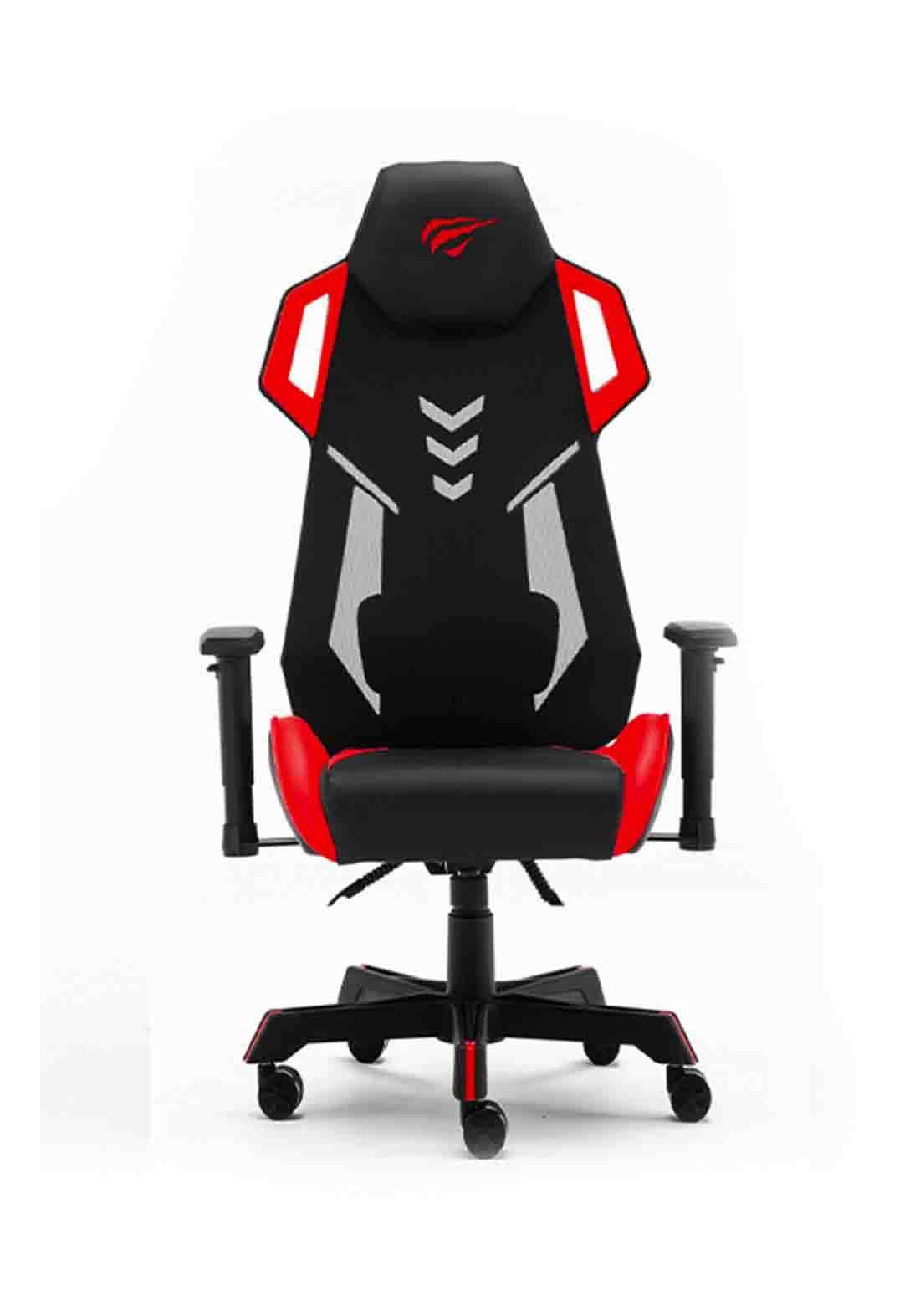 Havit GC935 Gaming Chair - Black and Red كرسي العاب