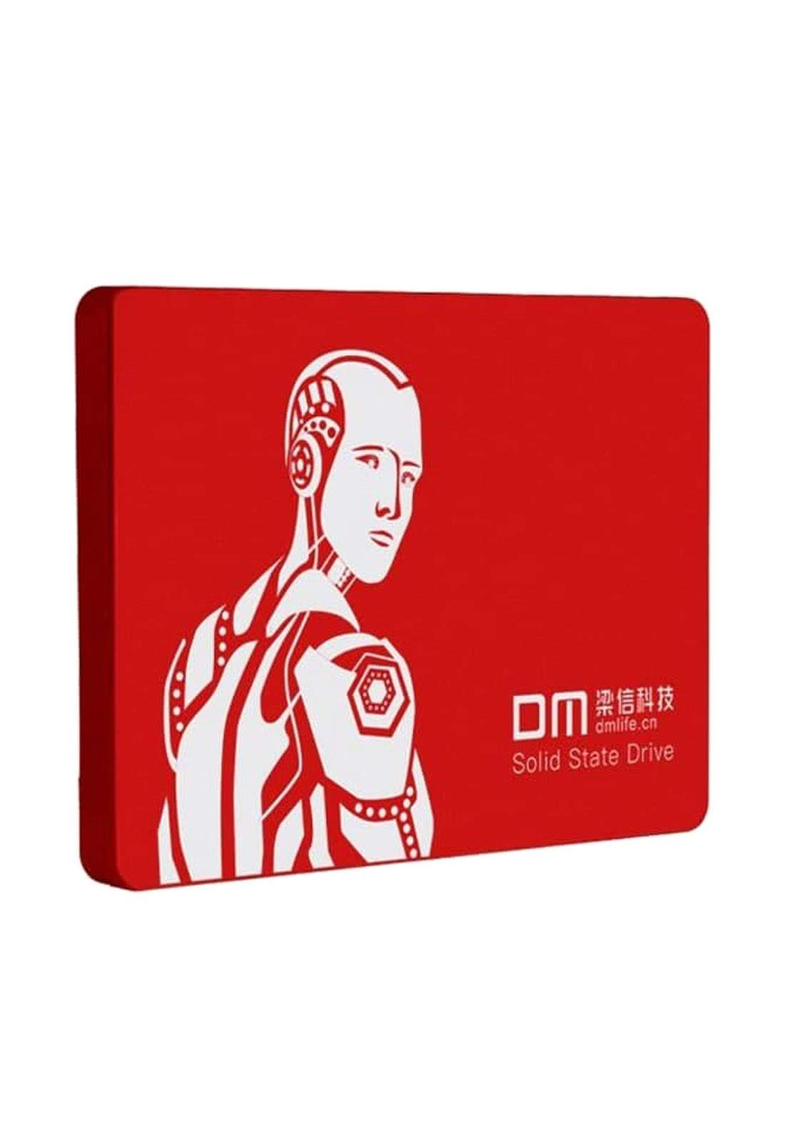 DM F550 240GB 2.5 inch Internal Solid State Drive SSD - Red هارد داخلي