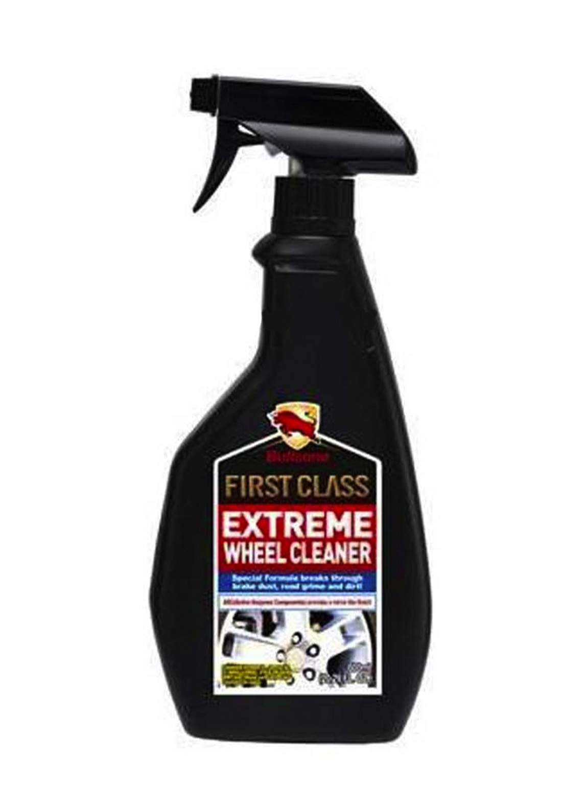 Bullsone First Class Extreme Wheel Cleaner 600 ml منظف الإطارات والعجلات