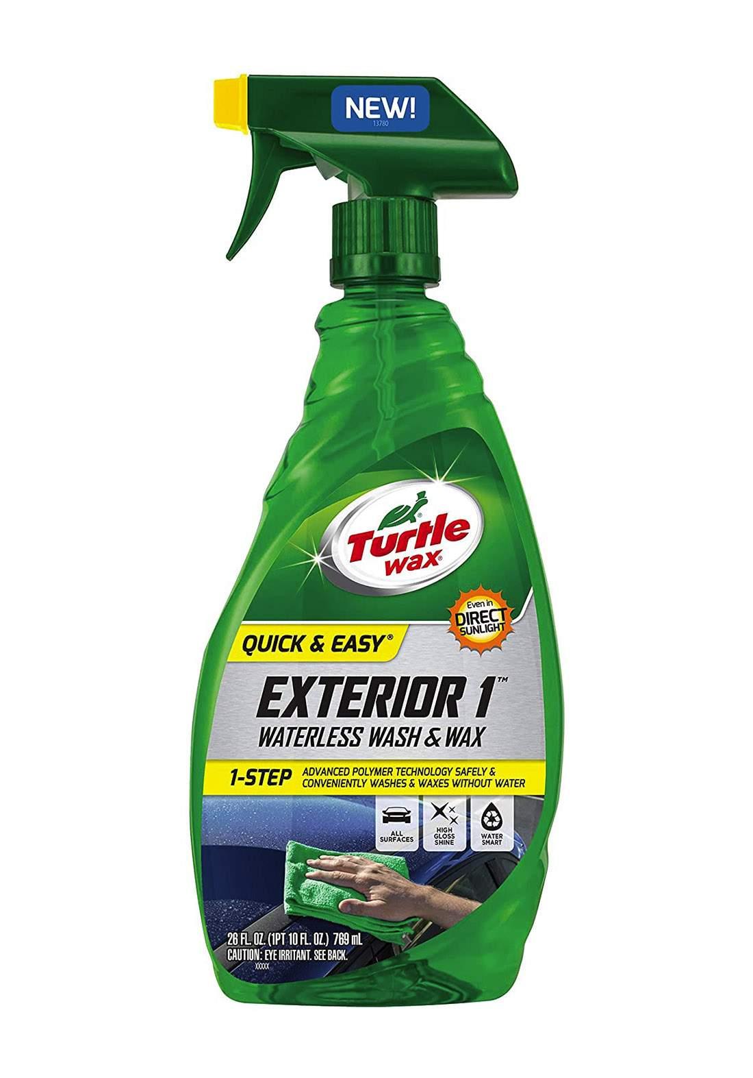 Turtle wax Exterior 1 Waterless Wash & Wax 769 ml ملمع وشمع سيراميك للسيارة