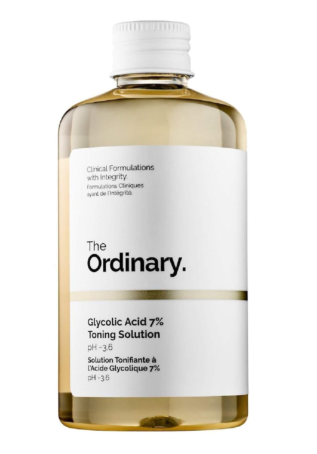 The Ordinary Glycolic Acid 7% Toning Solution (240ml) تونك مقشر للبشرة