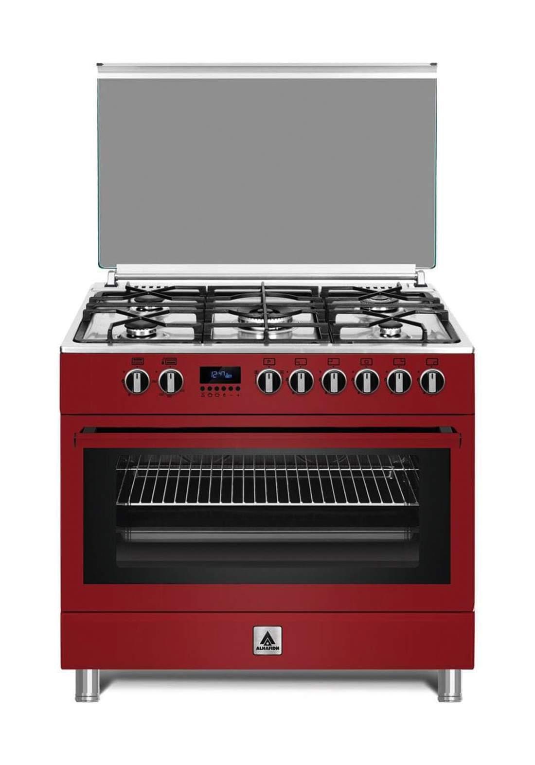 Alhafidh GCHA-90RDD43-5 Burners Gas Cooker 90x60cm طباخ غازي