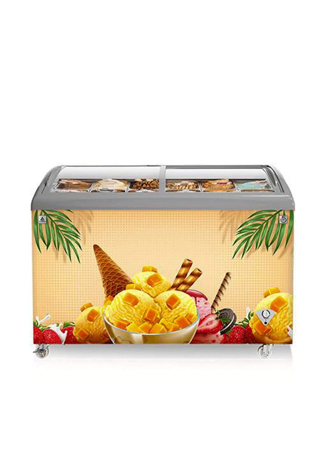 Alhafidh (CSC425) 15cf Direct Cool Chest Freezer Ice Cream Showcase مجمدة عارضة