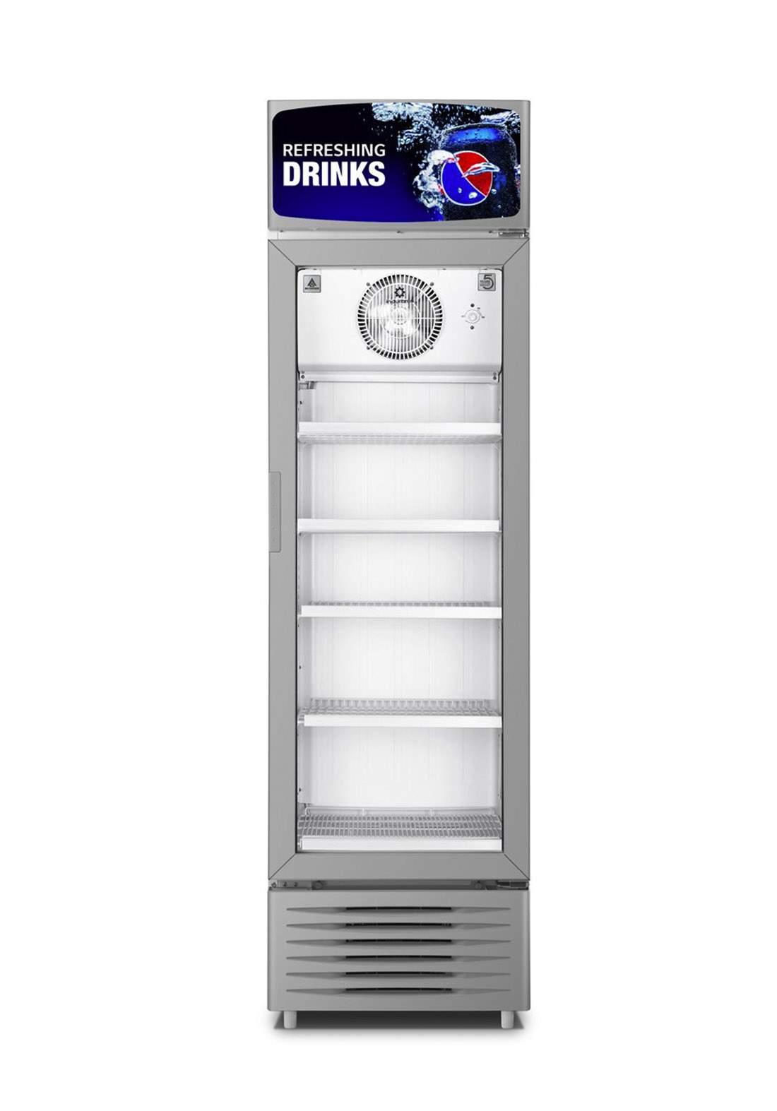 Alhafidh (9USC595) 21cf Direct Cool Upright Showcase Refrigerator ثلاجة عارضة