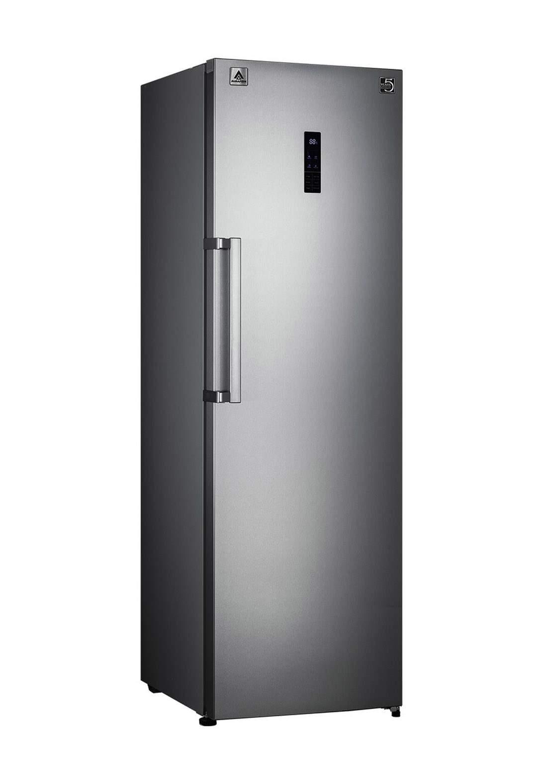 Alhafidh (RFHA-SD475NTSS) 16cu.Ft. No Frost Single Door Upright Refrigerator ثلاجة باب واحد