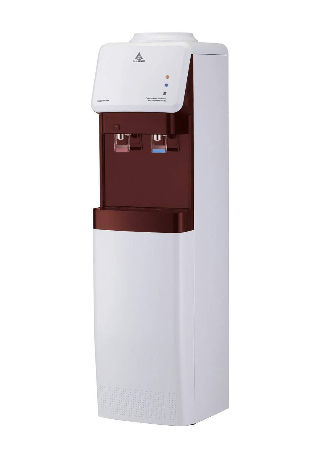 Alhafidh (DHA-99KWR) 2 Tap Free Standing Water Dispenser براد ماء عمودي