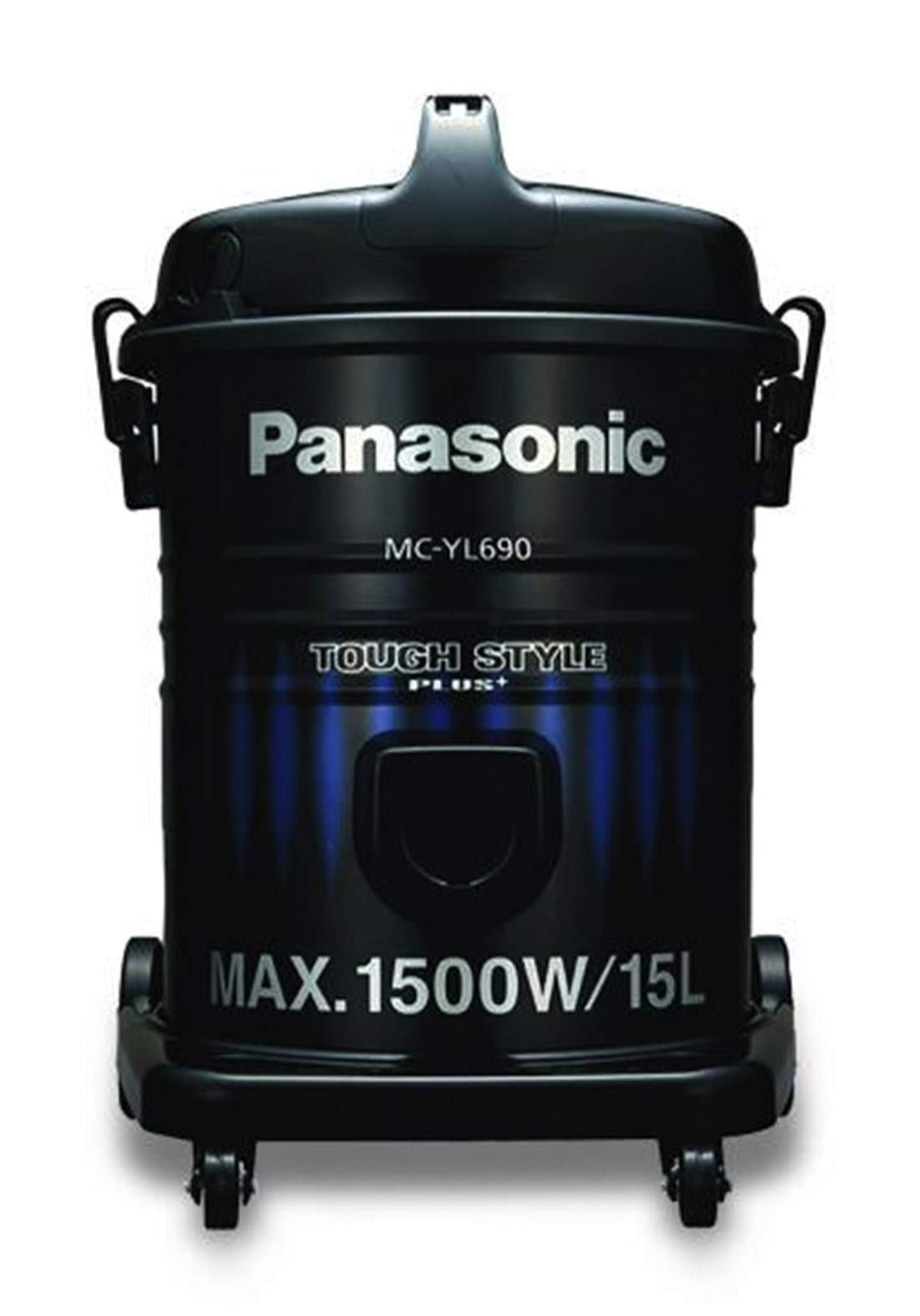 Panasonic (MC-YL690AH49) 15 Liters 1500w Vacum Cleaner مكنسة كهربائية
