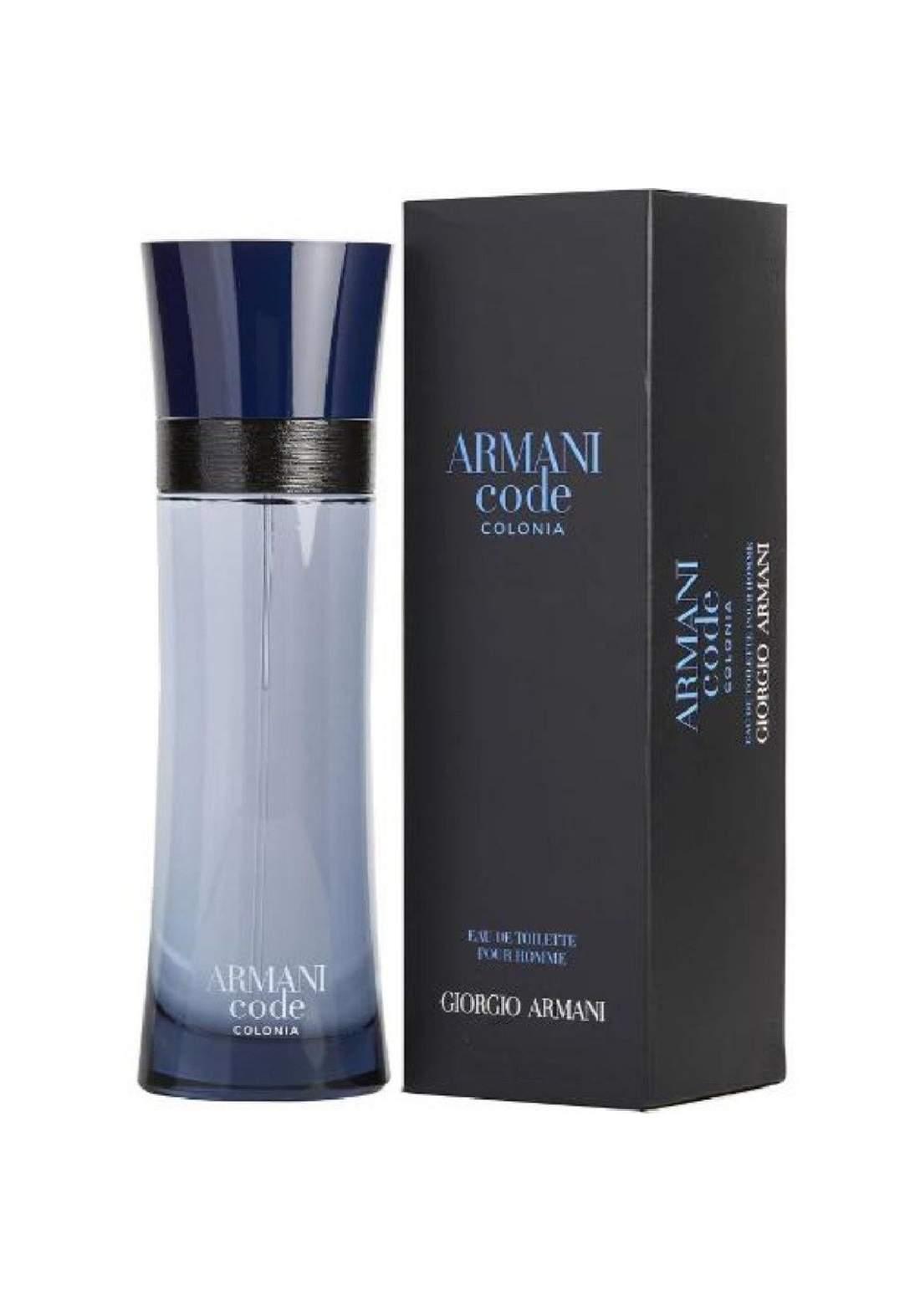 Giorgio Armani Code Colonia Eau De Toilette For Men 125 ml عطر رجالي