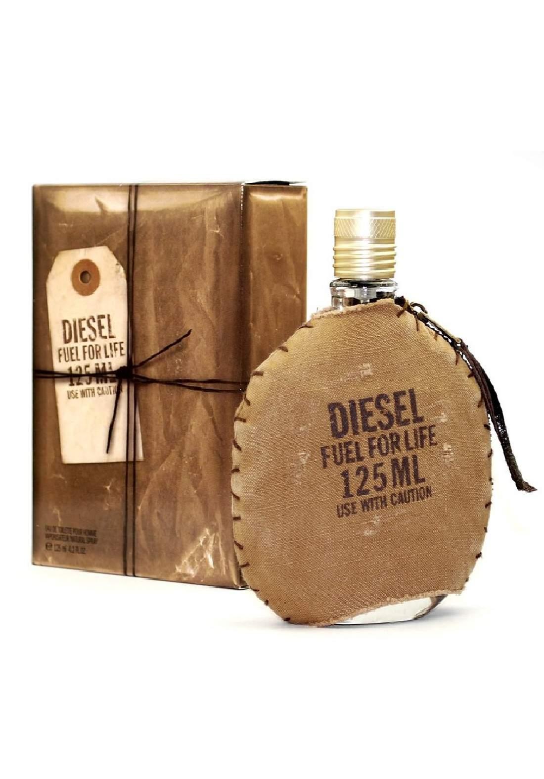 Diesel Fuel For Life Men Edt 125ml  عطر رجالي