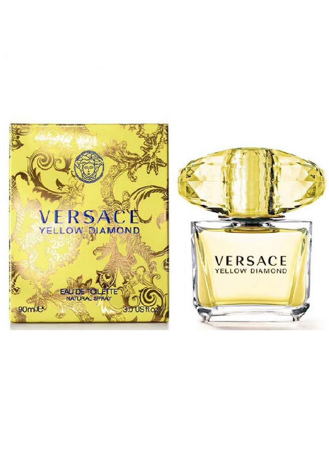 عطر نسائي Versace Yellow Diamond edt 90 ml