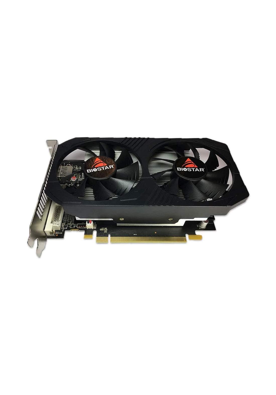 Biostar RX560 OC Gaming Radeon 4GB Cooling Fan - Black