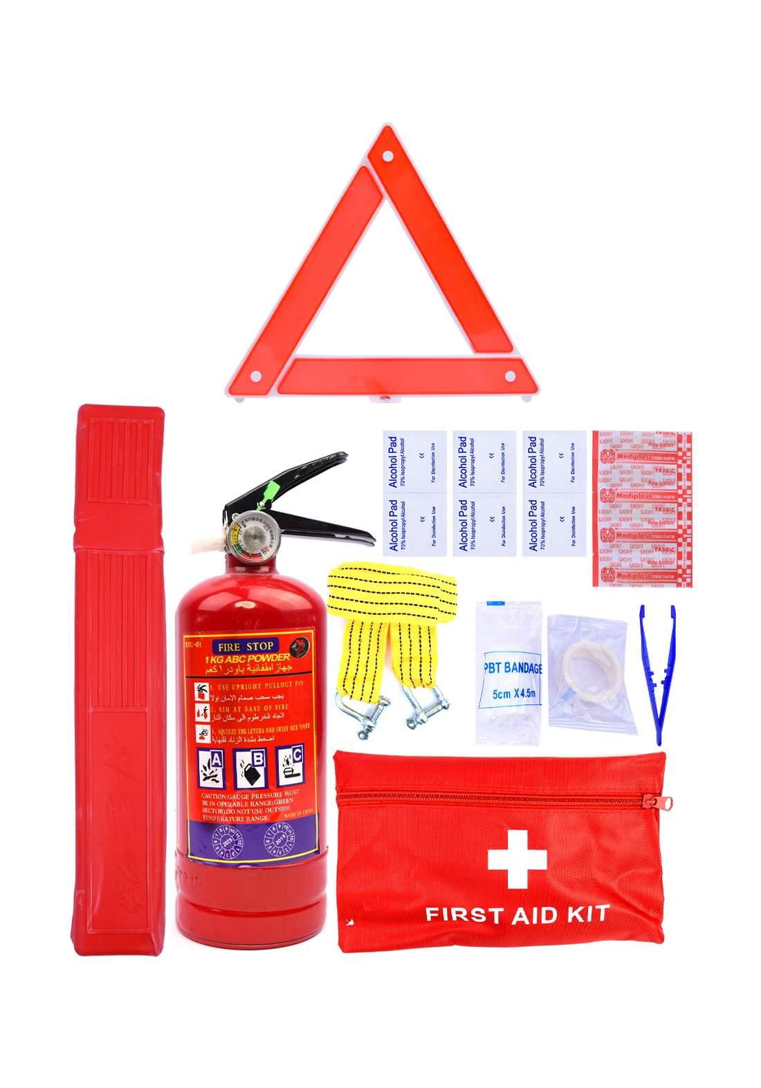 سيت طفاية حريق للسيارة  Set fire extinguisher for car