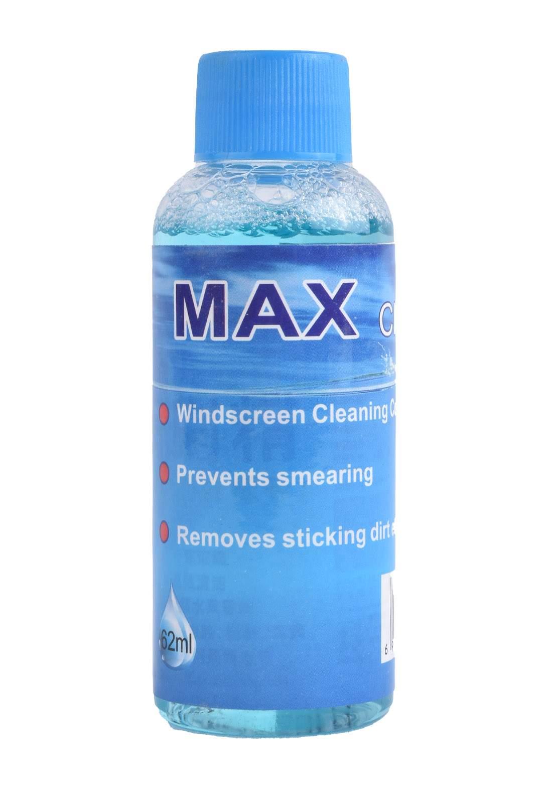 Max Windscreen Cleaning Concentrate 62 ml-Blue منظف ممسحة زجاج السيارة الامامي