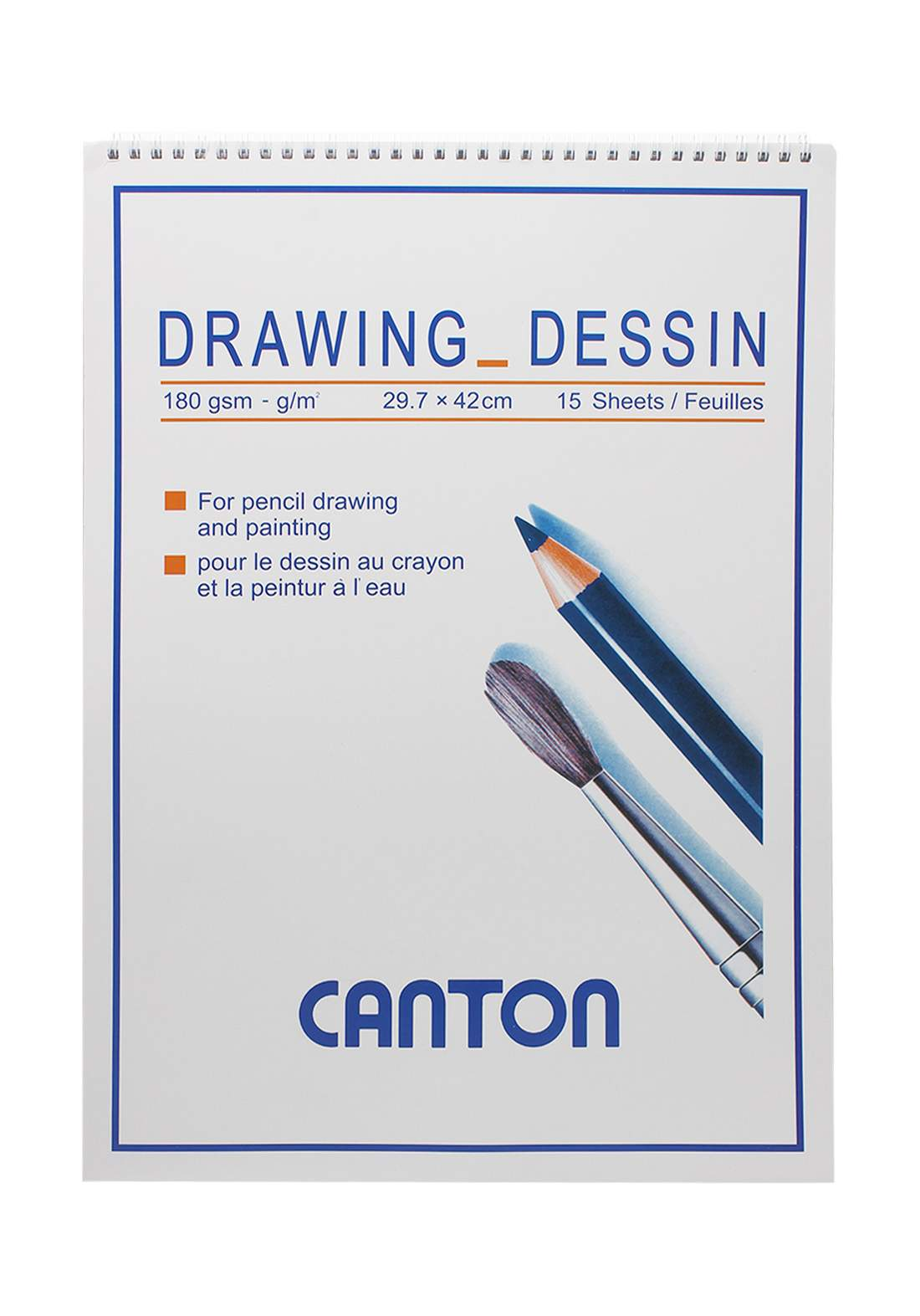 Canton Spiral Drawing Book دفتر رسم
