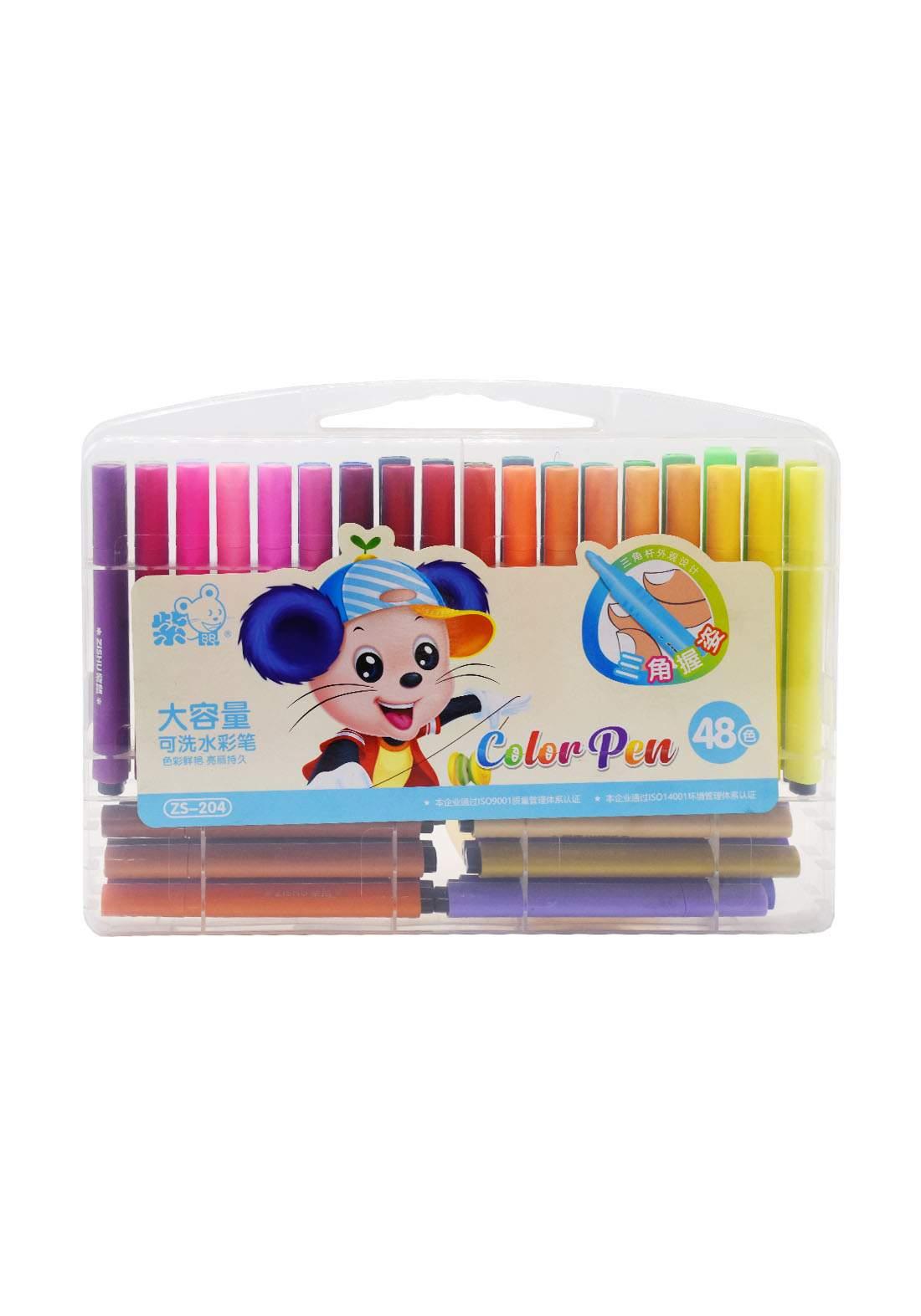 Magic coloring pens 48Pcs اقلام تلوين ماجك