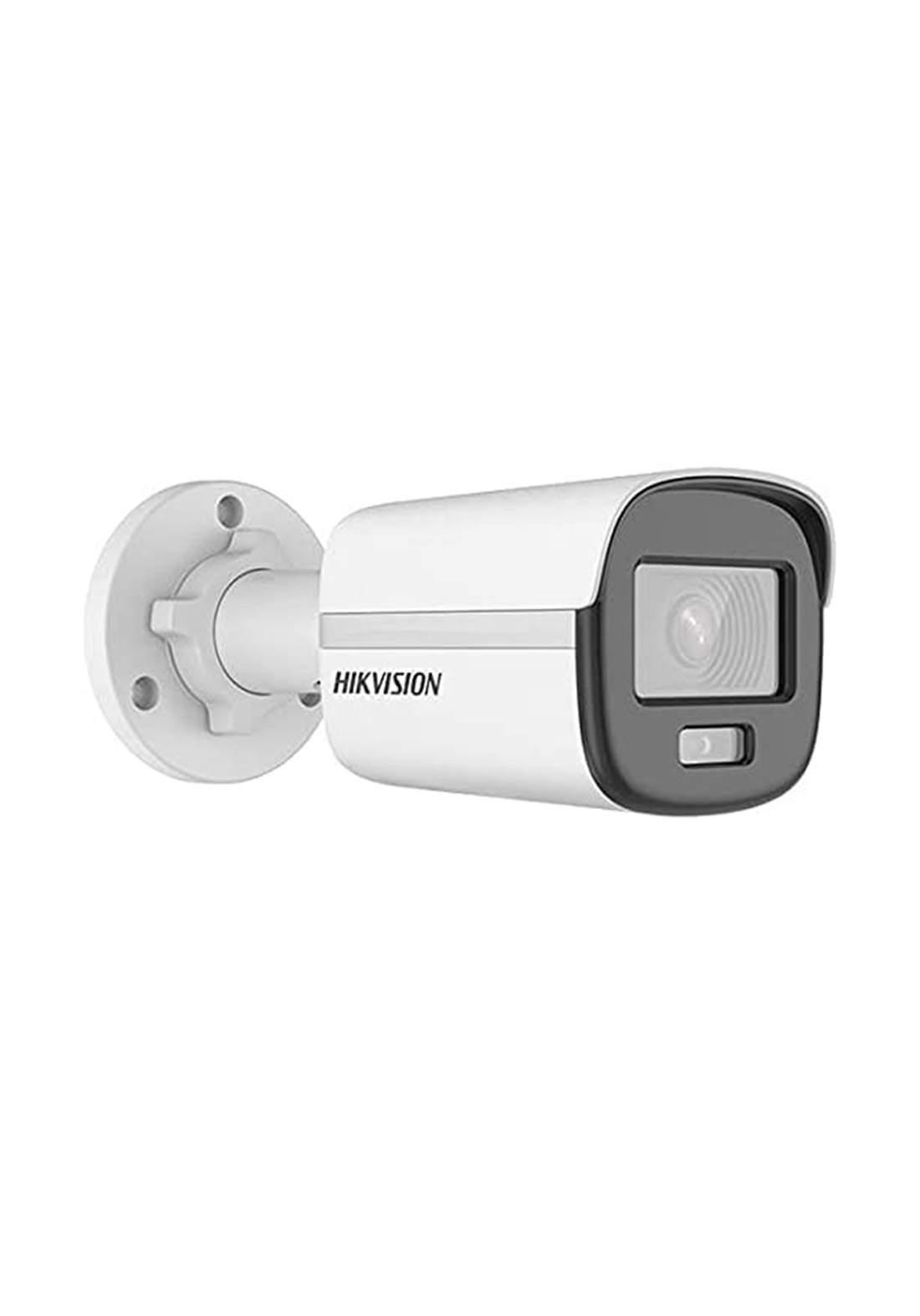 Hikvision DS-2CD1027G0-L ColorVu Lite Fixed Bullet Network Camera 2.8mm Lens - White  كاميرا مراقبة