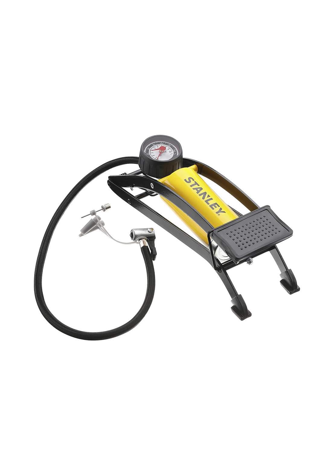 Stanley STHT80894-1 High Pressure Cylindrical Pedal Pump منفاخ اطارات السيارة
