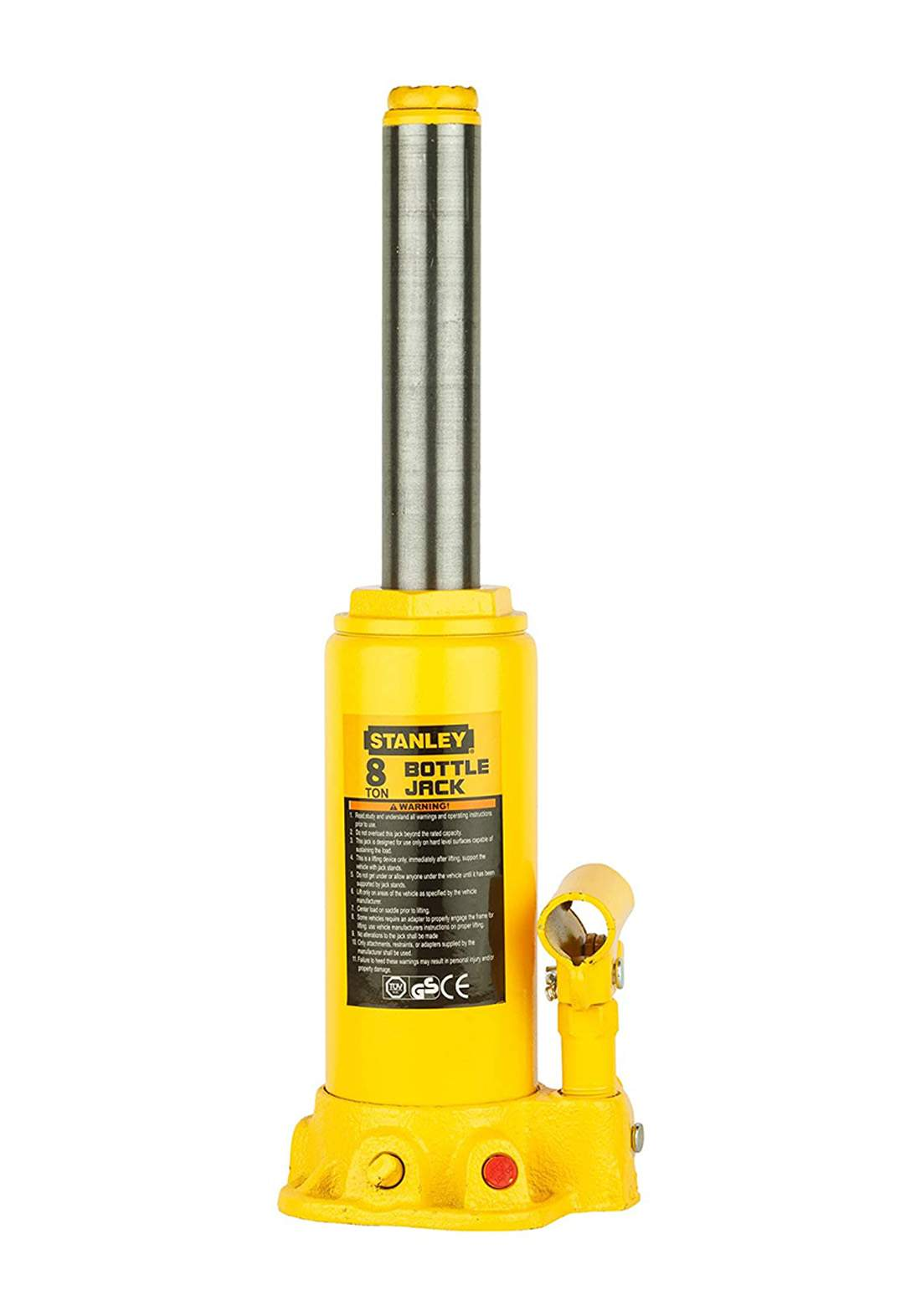 Stanley ST90801CE Ton Hydraulic Bottle Jack  رافعة سيارة