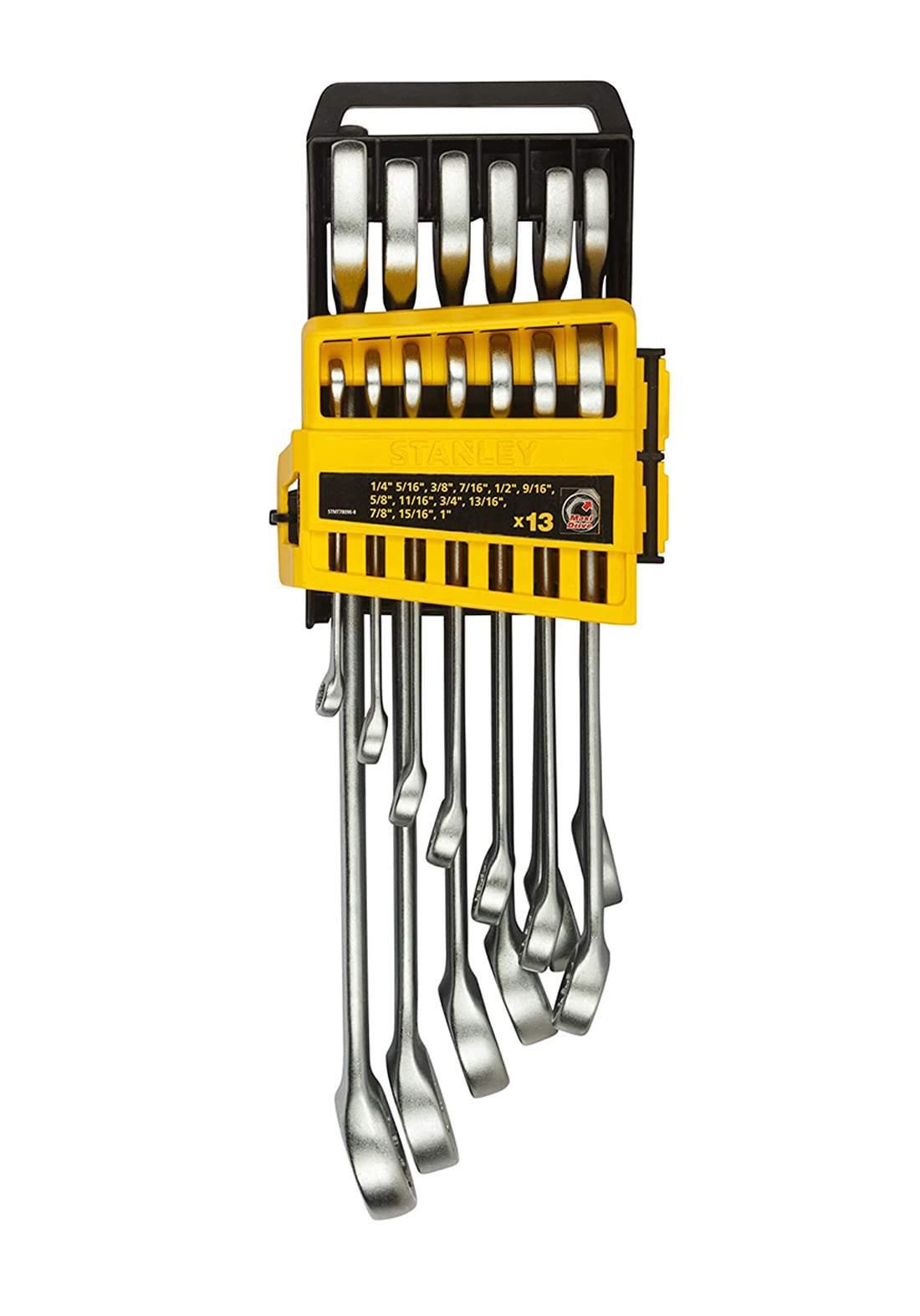 Stanley STMT78096-8 Combination Spanner Set 13Pcs سيت مفاتيح ربط