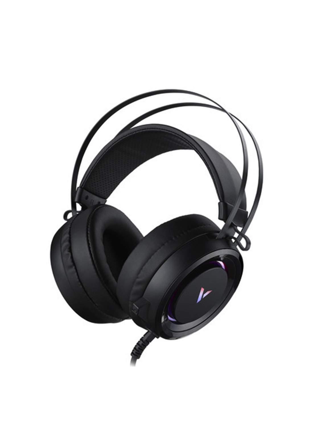 Rapoo VH500C Wired Gaming Headset - Black سماعة سلكية