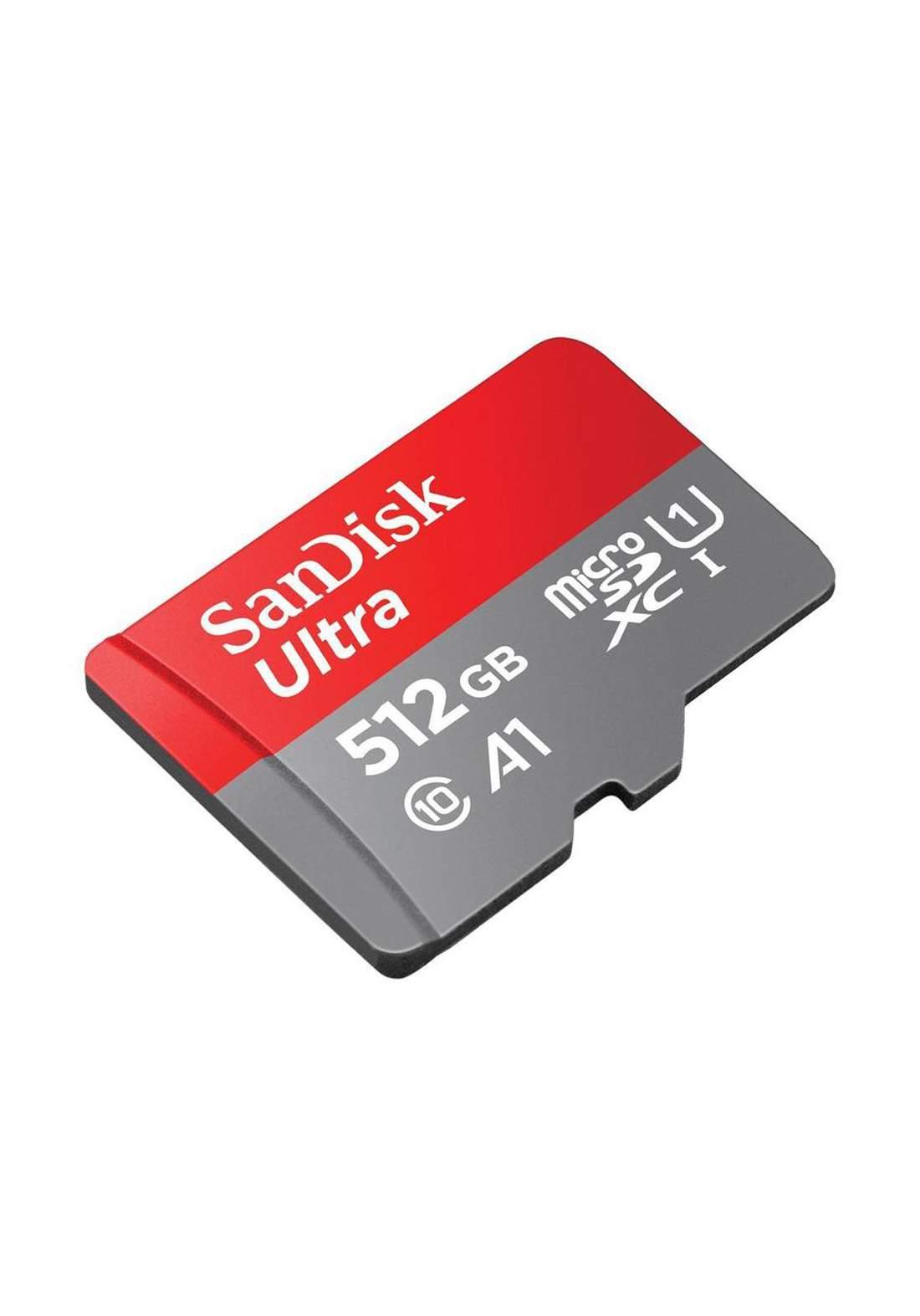 Sandisk Ultra MicroSDXC UHS-I Card 512 GB - بطاقة ذاكرة