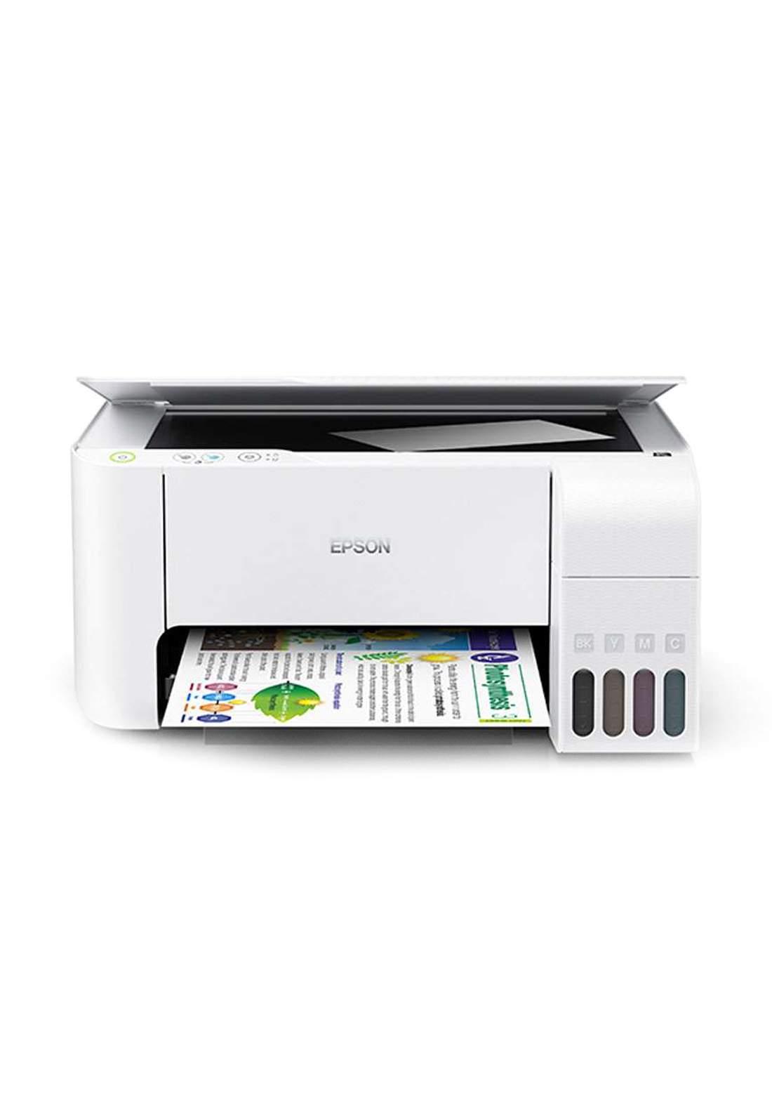 Epson EcoTank L3116 All-in-One Ink Tank Printer - White طابعة