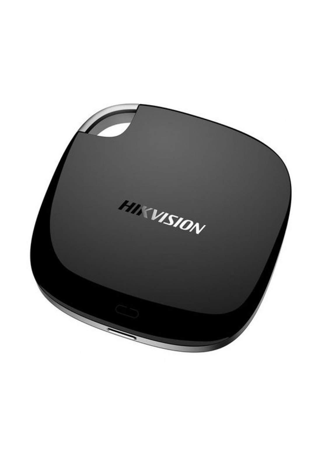 Hikvision T100I Portable SSD 512GB - USB 3.1 External Solid State Drive - Black هارد خارجي