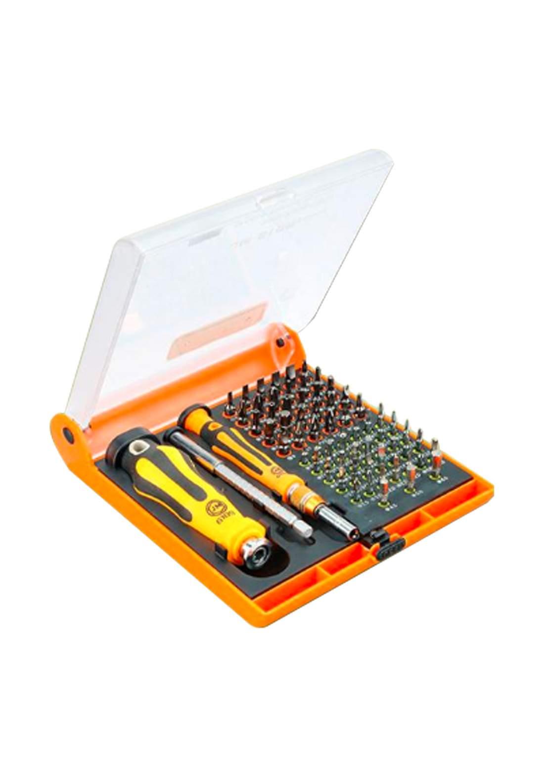 Jakemy JM-6109 72 in 1 Screwdriver Set Multi-function Tool Kit for Maintenance سيت رؤوس درنفيس