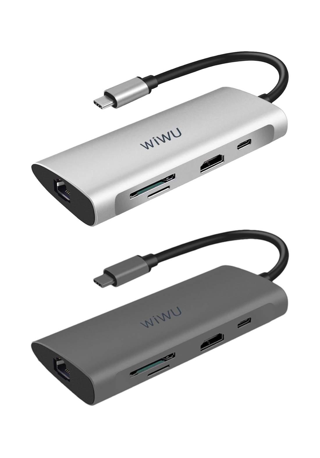 WIWU A831HRT USB Alpha 8in1 USB-C Hub