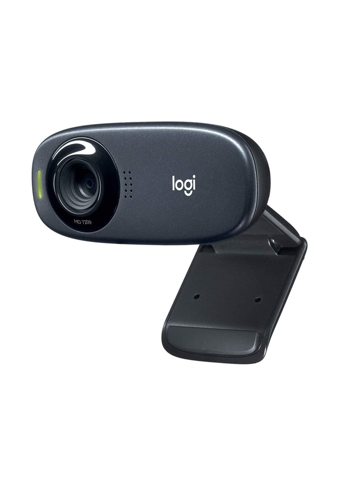 Logitech C310 HD Webcam - Black كاميرا