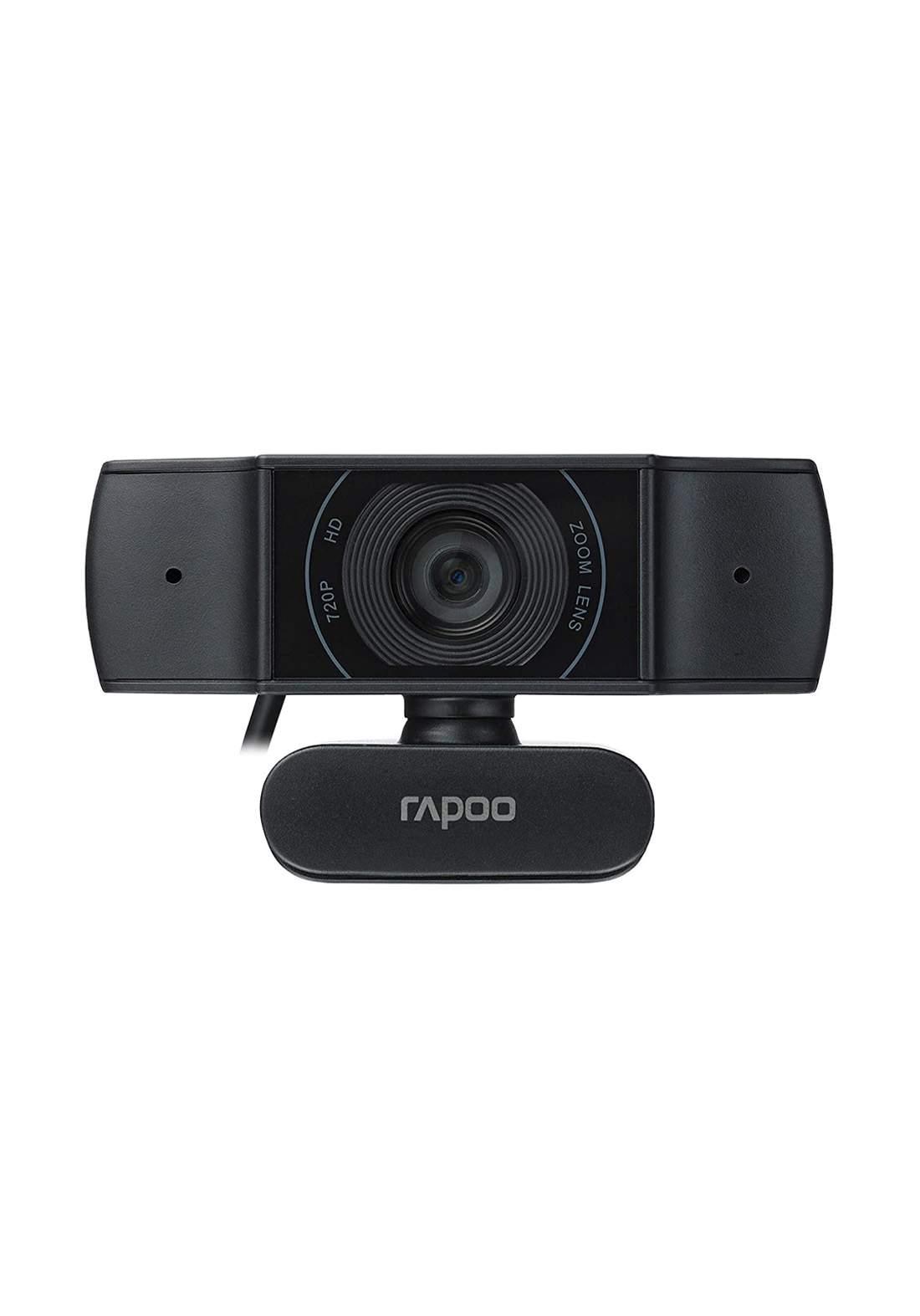 Rapoo C200 720p HD USB  Webcam with Microphone - Black كاميرا