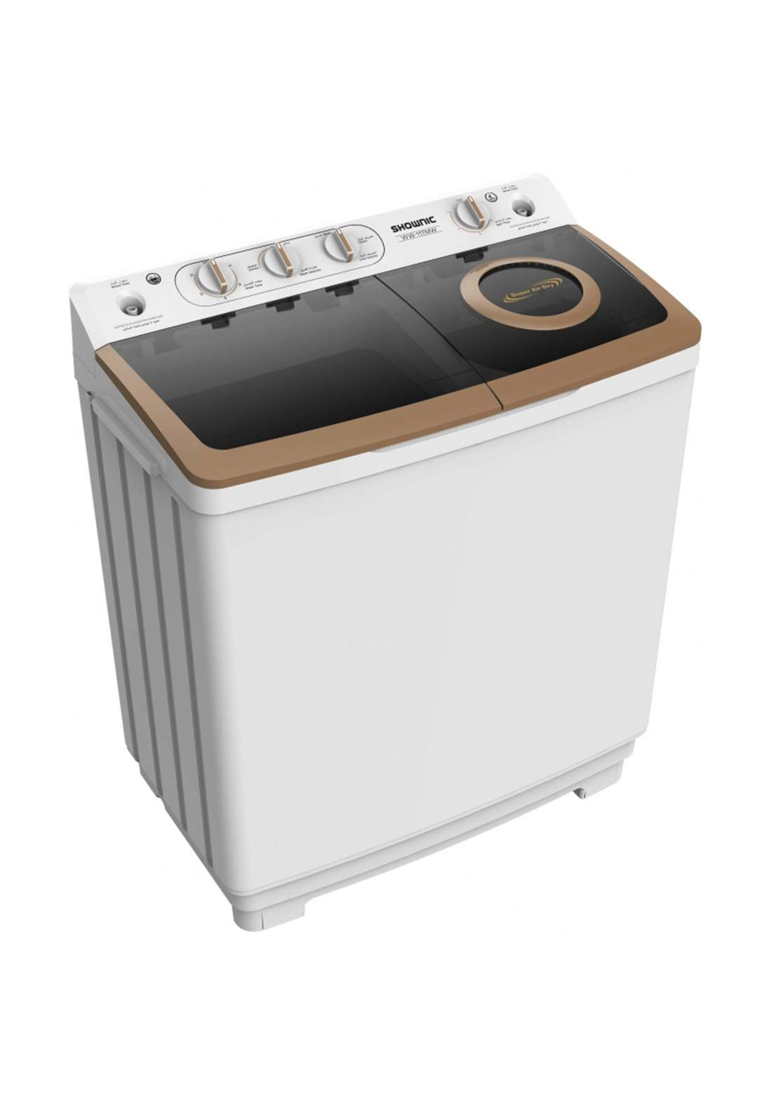 ShownicWW-11TMW  Washer, twin tub size 11 kg غسالة حوضين