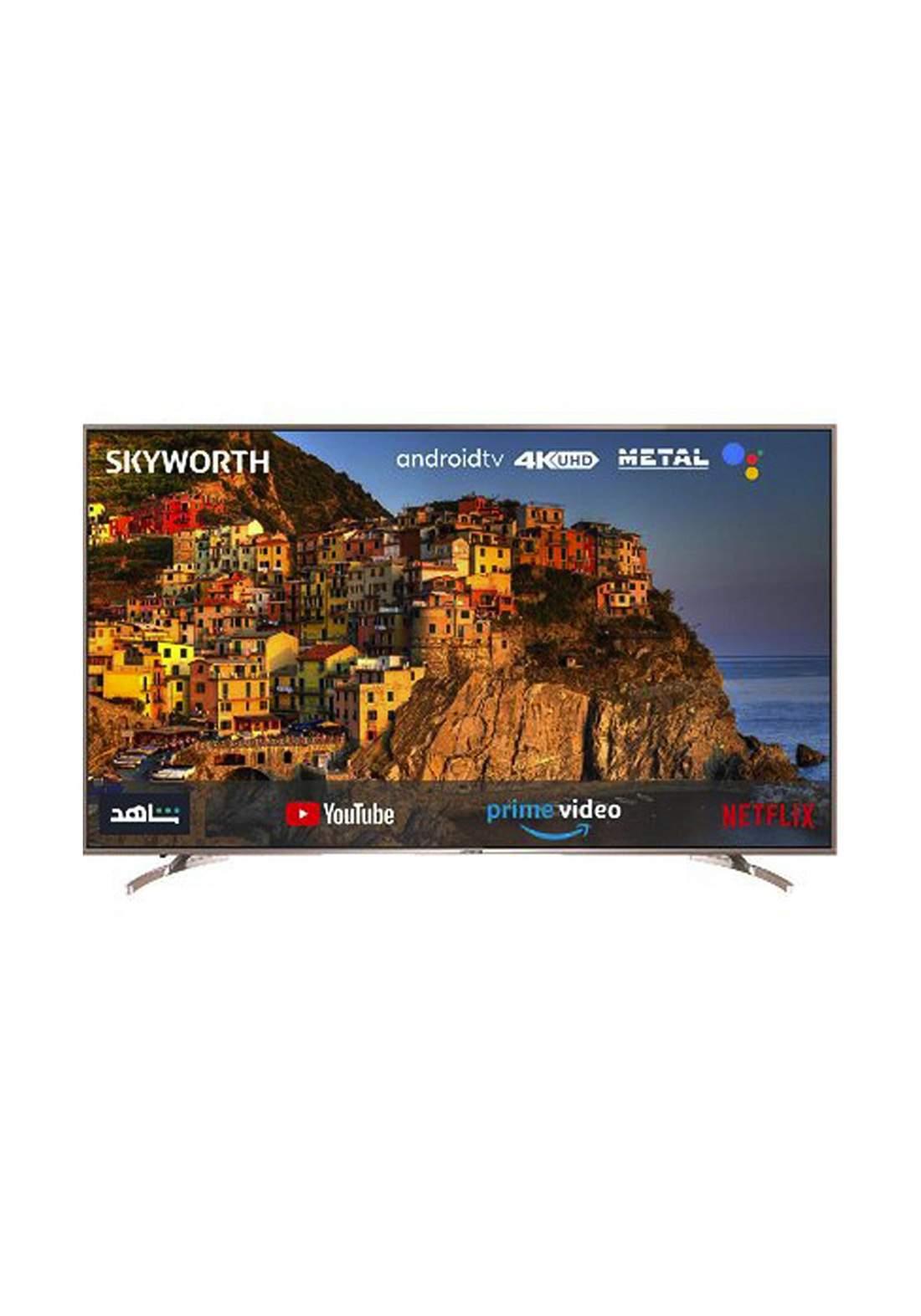 "Skyworth 75SUC8100 LED 75 "" smart Android Smart TV with DVBT2 - Black  شاشة"