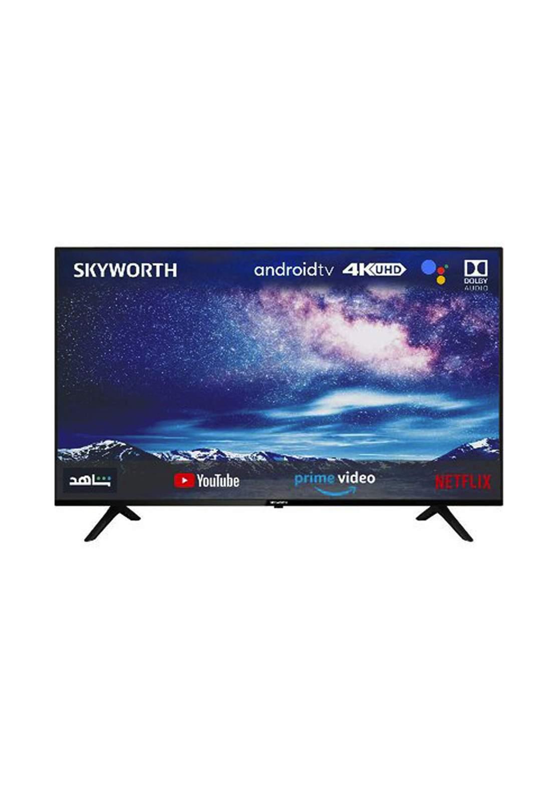 "Skyworth 50SUC8300 Android 4K UHD LED  50"" Television - شاشة"