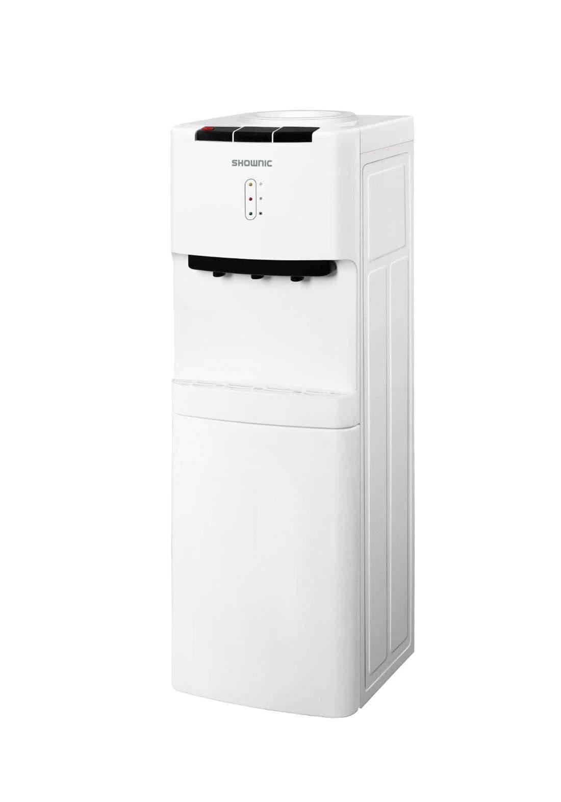 Shownic YT-R368W Water Dispenser with fridge - White  براد ماء مع ثلاجة