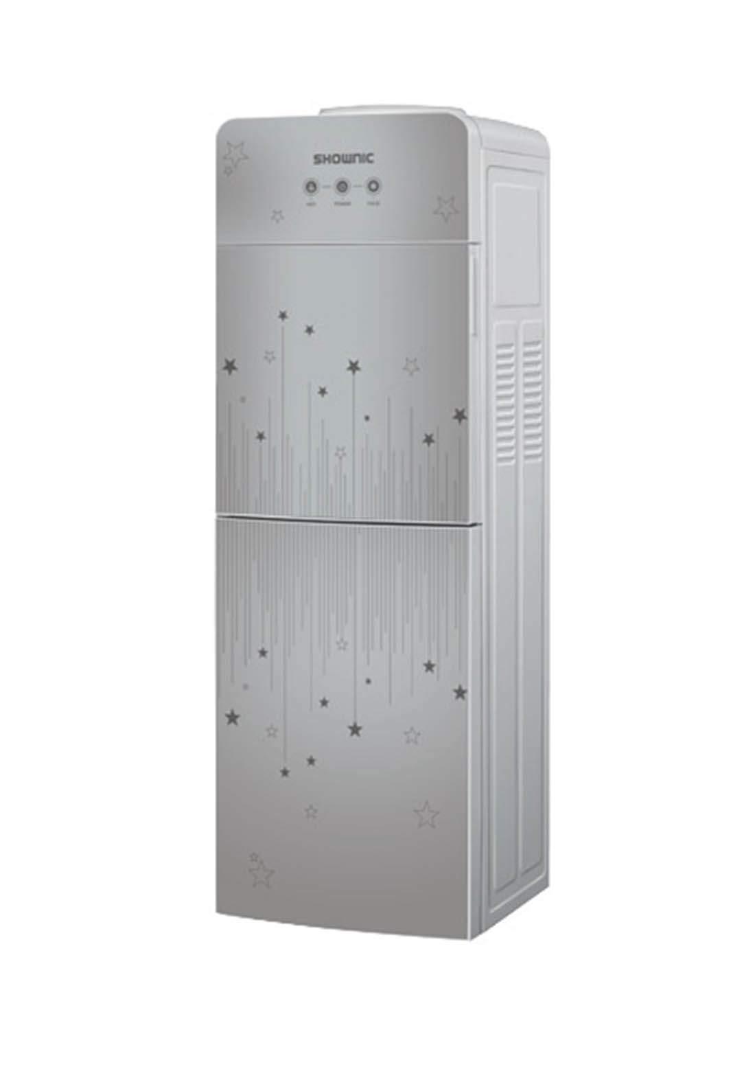 Shownic YT-R378SG Water Dispenser with fridger  براد ماء مع ثلاجة