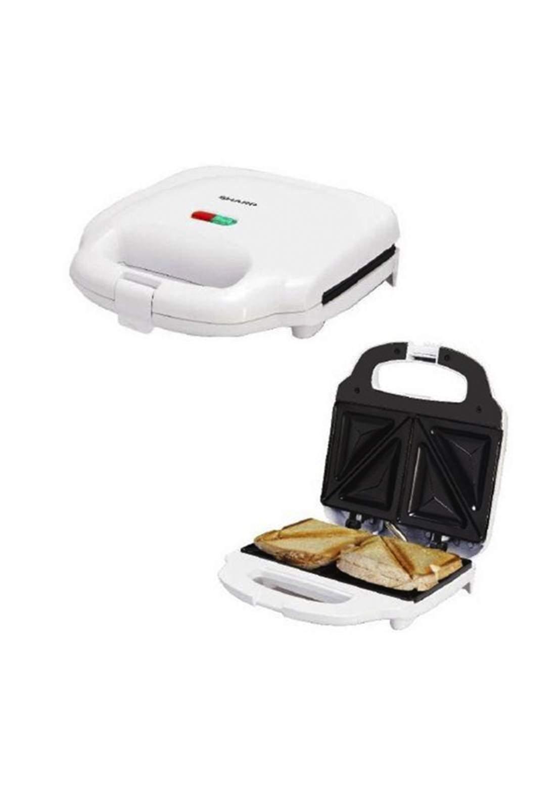 Sharp KZ-SU11-W3 Sandwich maker 2 Silces -white صانعة ساندويشات