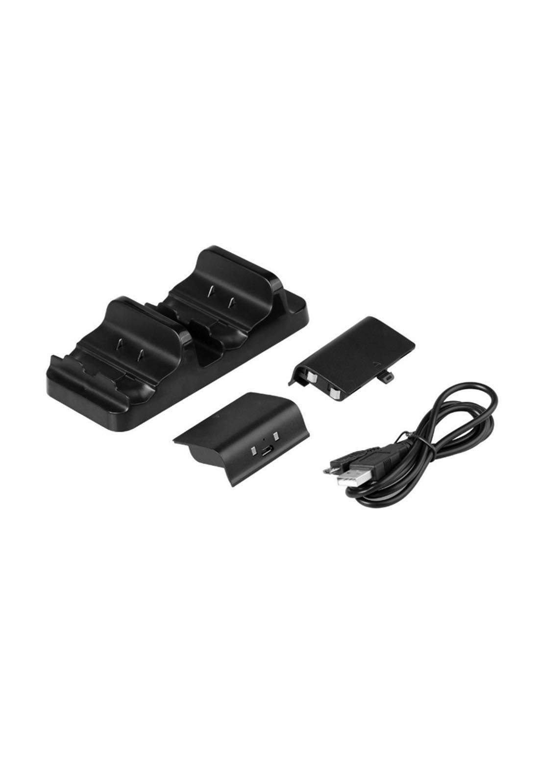 Dobe TYX-532X Wireless Gamepad Charging - Black شاحن وحدات التحكم