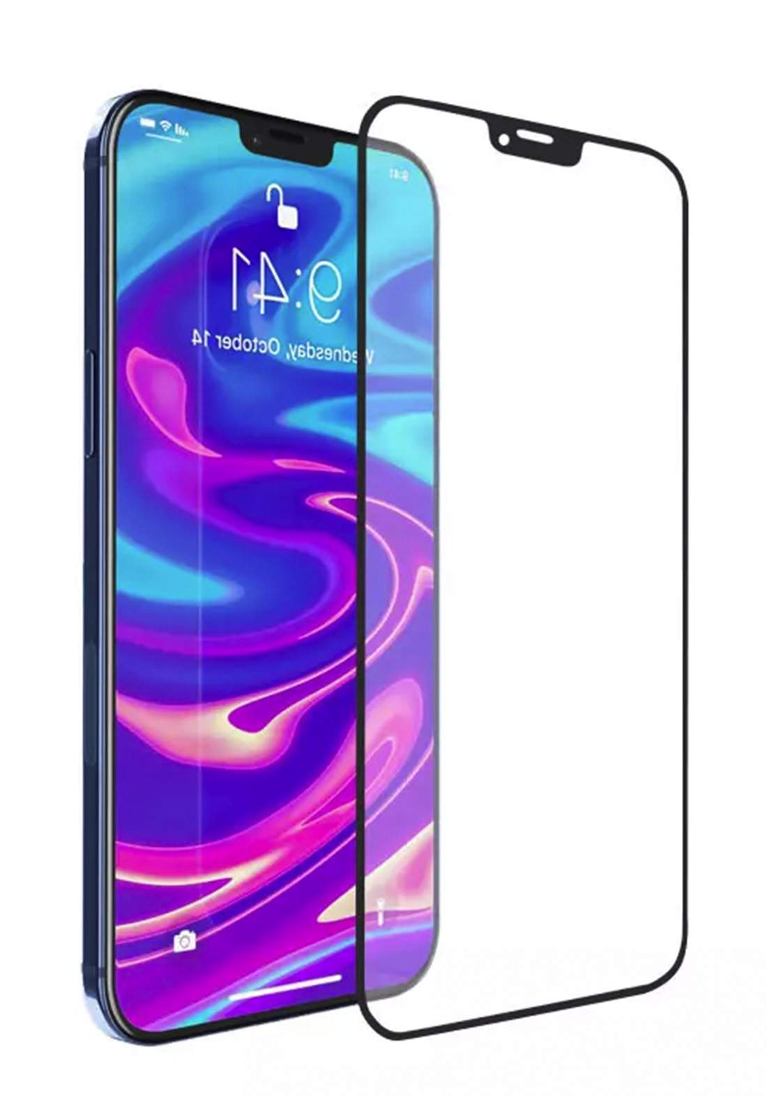 WIWU iVista 2.5D HD Tempered Glass Screen Protector for iPhone 12 Pro Max  واقي شاشة